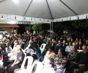 Entronização de Nossa Senhora Aparecida em Itaperuna (RJ)