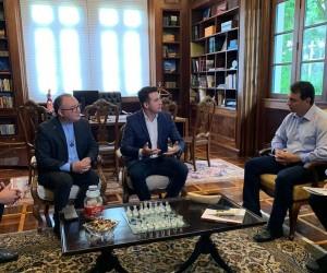 Entrega de convites - Governo do Estado de Santa Catarina