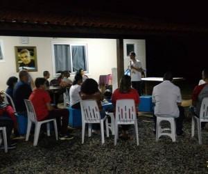 Encontro formativo dos Grupos de Oração da RCC de Italva (RJ)