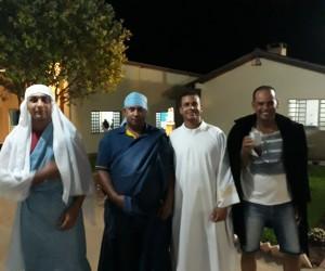 Grupo de Oração com grupo Voz  de Deus, em Cianorte (PR)