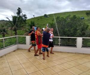 Em Itaperuna, Dia do Filho foi festejado em uma chácara cedida pelos Amigos de Bethânia