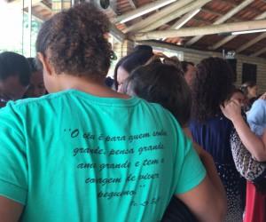Encontro das Famílias emociona participantes, no recanto São João Batista