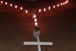 Terço à luz de velas - Cianorte (PR)