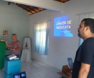 Filhos de Itaperuna participam de palestra de prevenção do câncer de próstata