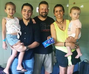 Família e Thiago Brado