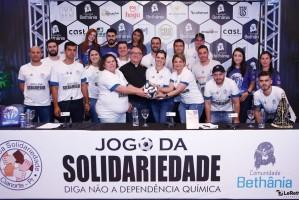 Coletiva de Imprensa  2º Jogo da Solidariedade - Cianorte (PR)