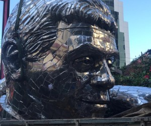 Mirante e Estátua  - Padre Léo
