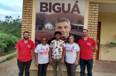 Comunidade Bethânia recebe visita da Comissão da Pastoral da Aids