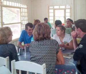 Recanto Guarapuava-PR foi presenteado com um maravilhoso almoço oferecido pelos amigos de Bethânia