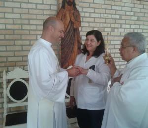 24 anos de matrimônio do casal Ideraldo e Margarida, co-fundadores da Comunidade Bethânia.