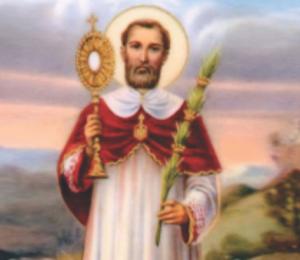 Igreja celebra festa de São Lourenço, padroeiro dos diáconos