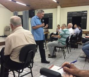 Padres da Comunidade Bethânia participam do retiro anual de padres da diocese de Guarapuava-PR.
