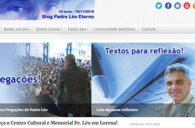 Blog Padre Léo Eterno completa 10 anos