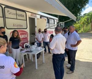 Projeto Solidário Amor Sobre Rodas realiza atendimento em São João Batista
