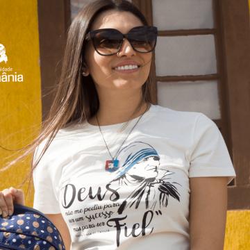 Vista a sua fé: camisetas católicas