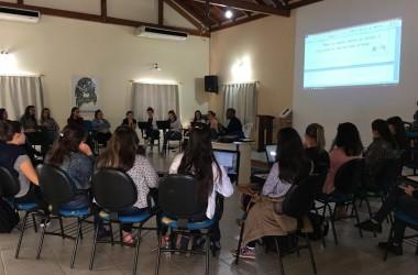 Professores do Ceju participam de capacitação