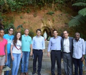 Secretário de Turismo de São Paulo visita o recanto Lorena