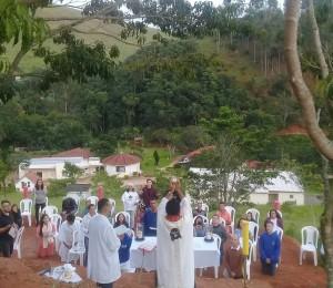 Santa Missa de Páscoa marca inauguração do Monte Tabor em Lorena (SP)