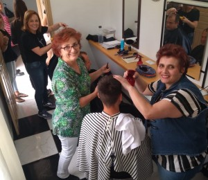 Voluntários proporcionam momentos de beleza aos Filhos e Filhas