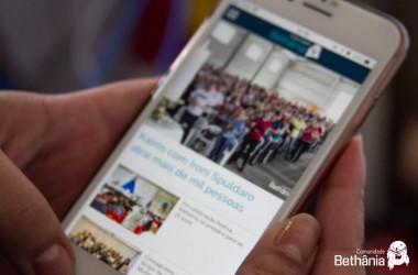 Comunidade Bethânia lança aplicativo para smartphone