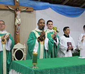 Santa Missa de Encerramento do Cerco de Jericó no Recanto São João Batista-SC