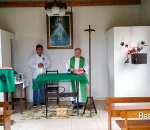 Santa Missa com Padre Jorge, no recanto Irati-PR