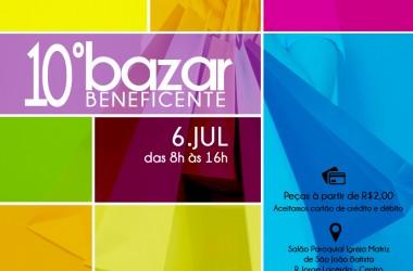 Comunidade Bethânia promove 10º Bazar Beneficente