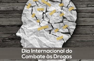 Quarta-feira é marcada pelo Dia Internacional de Combate às Drogas