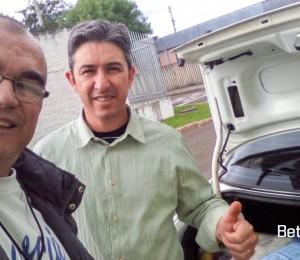 Doação recebida pelo Recanto Guarapuava-PR
