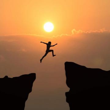 Coragem para não perder a fé e a esperança