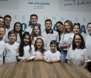Alunas do CEJU participam da 35ª Feira Catarinense de Matemática