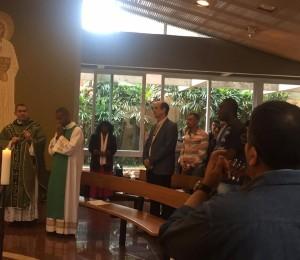Pe Vicente participa do Encontro Nacional de Reflexão Teológica
