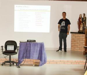 Aconteceu no Recanto São João Batista-SC, formação para consagrados de aliança.