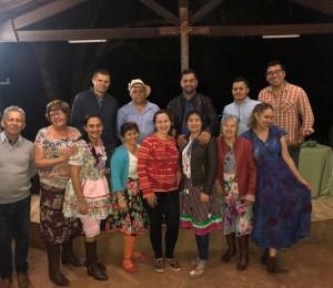 Arraiá no recanto Uberlândia (MG) é festejado com alegria