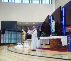 Padre Djalmo e Diácono Ideraldo visitam Recanto Guarapuava-PR