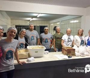 Macarronada Solidária em prol da Comunidade em São João Batista-SC