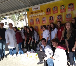 Ação social de alunos do Colégio São Luiz beneficia recanto São João Batista