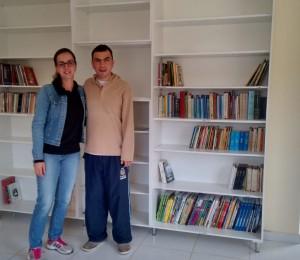 Biblioteca já é realidade na Comunidade Bethânia