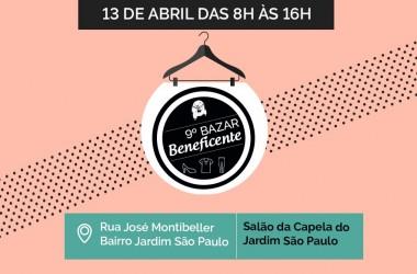 Comunidade Bethânia promove 9º Bazar Beneficente