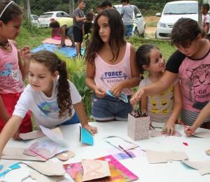 Alunos do Ceju participam de momentos de integração