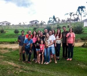 Amigos Jovens da Comunidade Bethânia no Recanto Irati-PR