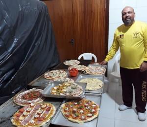 Restaurado, pizzaiolo retorna à Bethânia para servir outros filhos