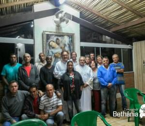 Recanto Uberlândia-MG recebe os Diáconos Geraldo e José Carlos para Celebração da Palavra e ganham doações do Renascer Conjugal