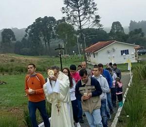 Corpus Christi no Recanto Irati-PR